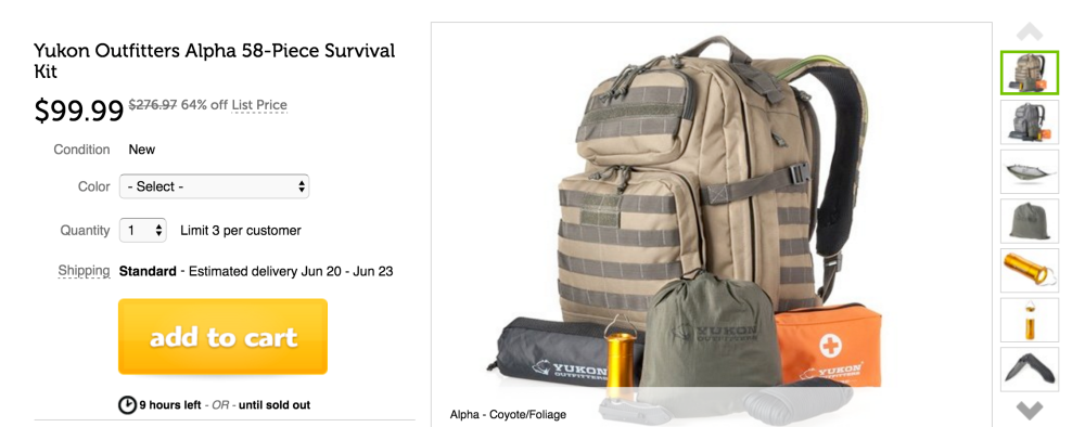 Yukon Outfitters BackPack
