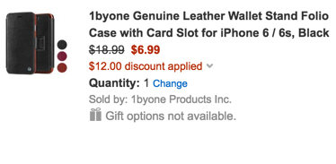 1byone leather case