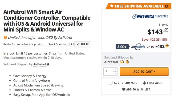 airpatrol-newegg-deal