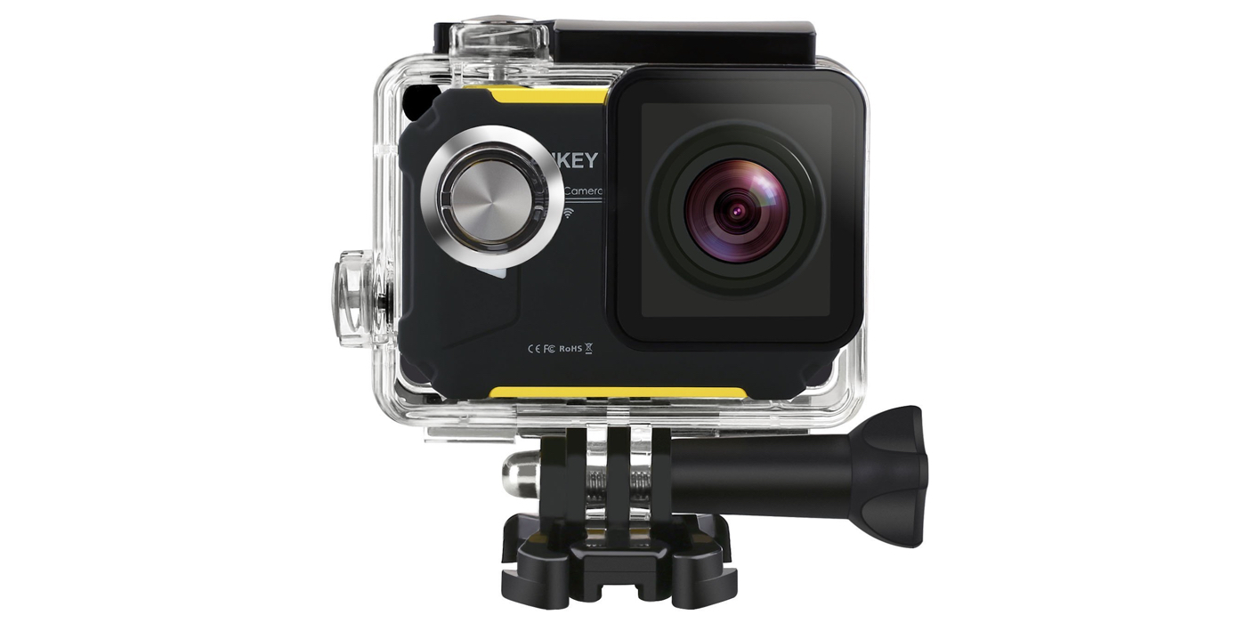 The new AUKEY Waterproof Action Camera can be yours for $65 shipped (Reg. $75)