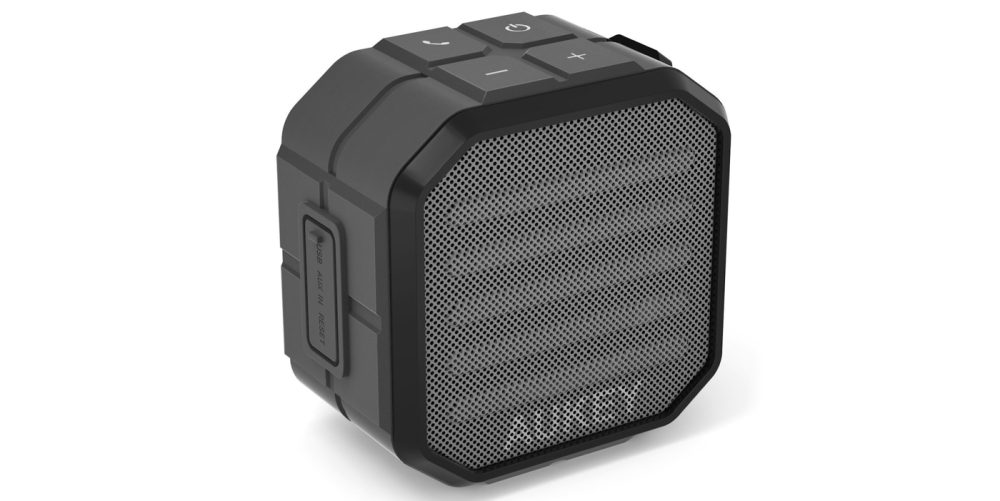 Aukey Bluetooth speaker water resistant