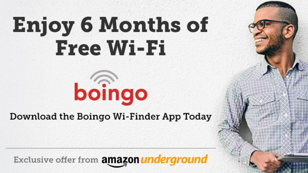 boingo amazon underground