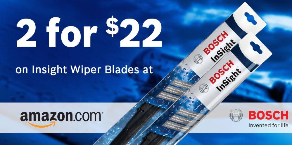 Bosch windshield wipers