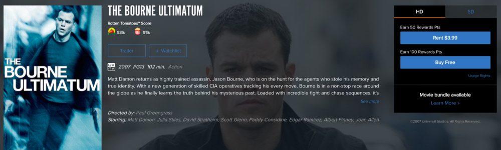 bourne free ultimatum