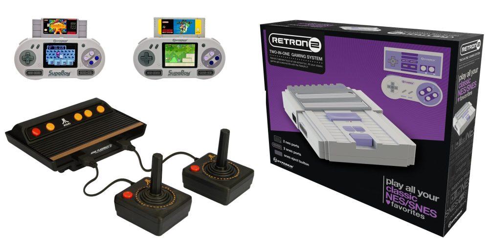 Classic gaming consoles