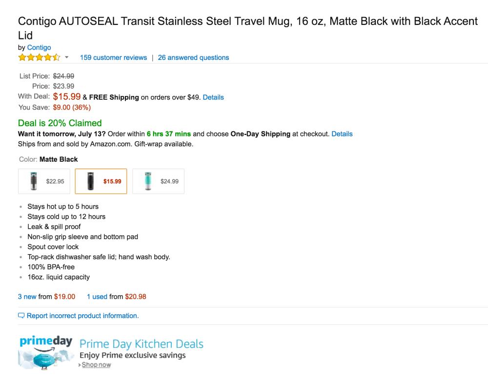 Contigo AUTOSEAL Transit Stainless Steel Travel Mug-4