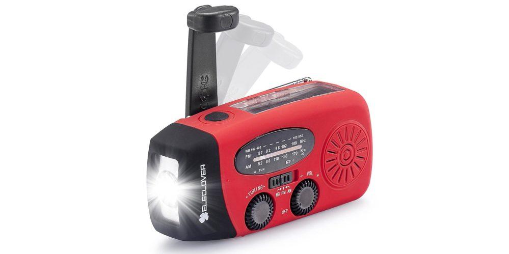 Emergency Solar Crank AM:FM:NOAA(WB) Weather Radio