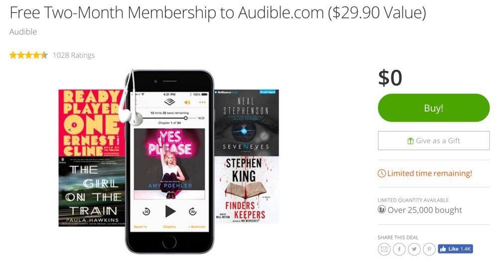free-two-month-audible-membersip