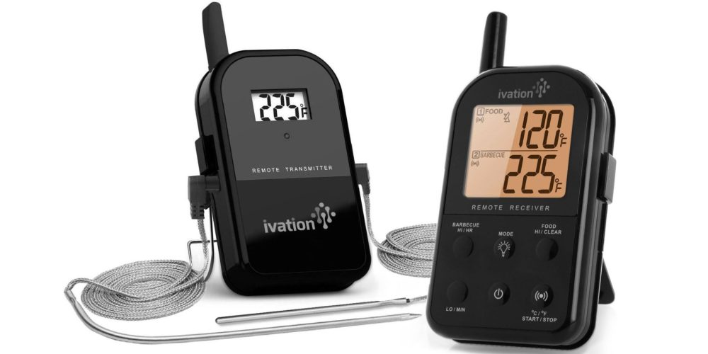 Ivation Long Range Wireless Dual-Probe Meat Thermometer