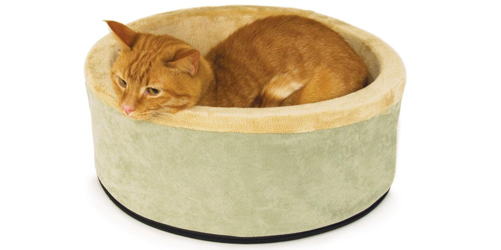 K&H Thermo-Kitty Heated Cat Bed-2
