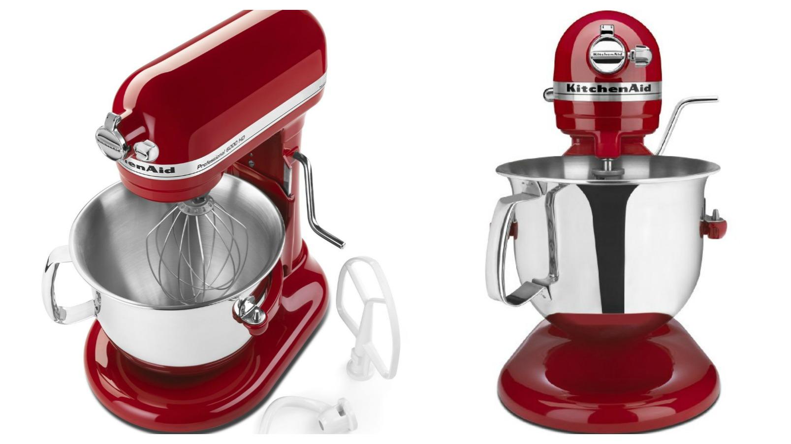 Amazon Offers The Professional 6 Qt Kitchenaid Stand Mixer