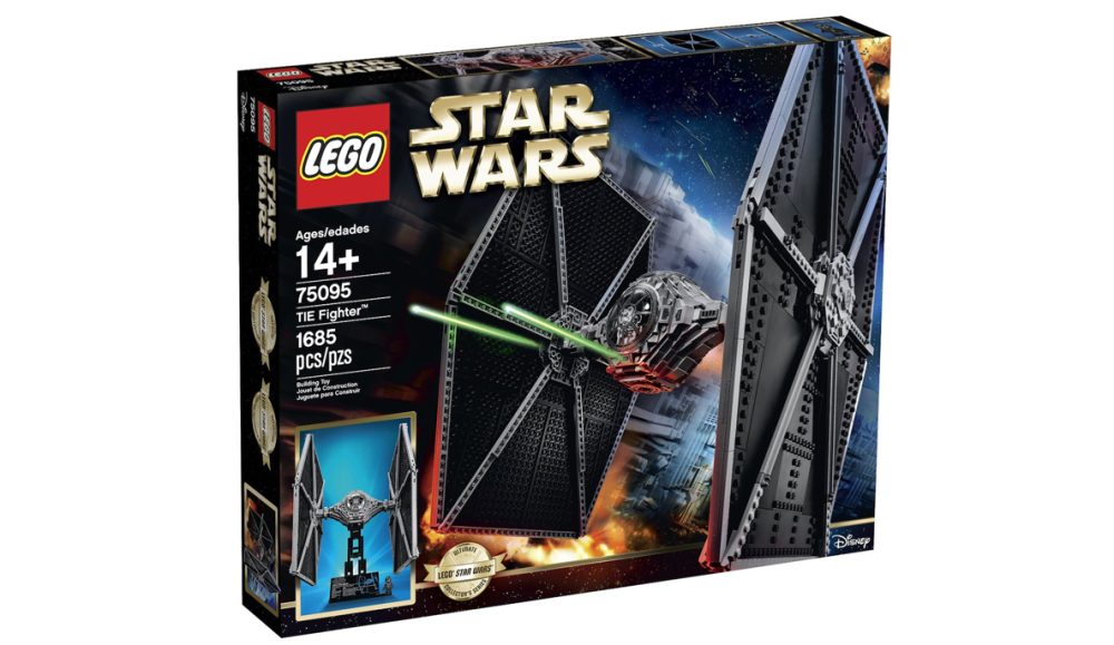 LEGO Star Wars TIE fighter set