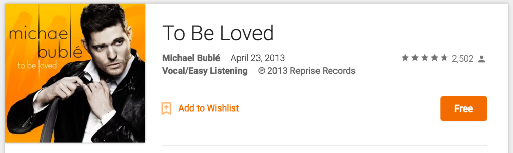 michael-buble-to-be-loved-google-play