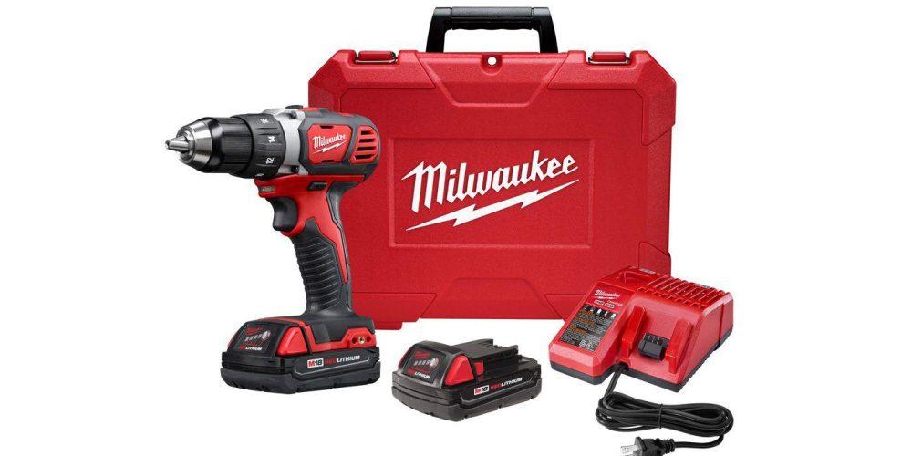 Milwaukee M18 18V Li-Ion Drill Driver Kit (2606-22CT)-3