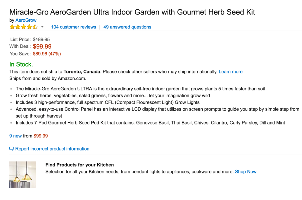 Miracle-Gro AeroGarden Sprout with Gourmet Herb Seed Pod Kit-3