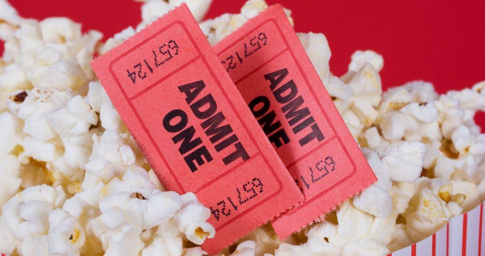 Movie theater ticket