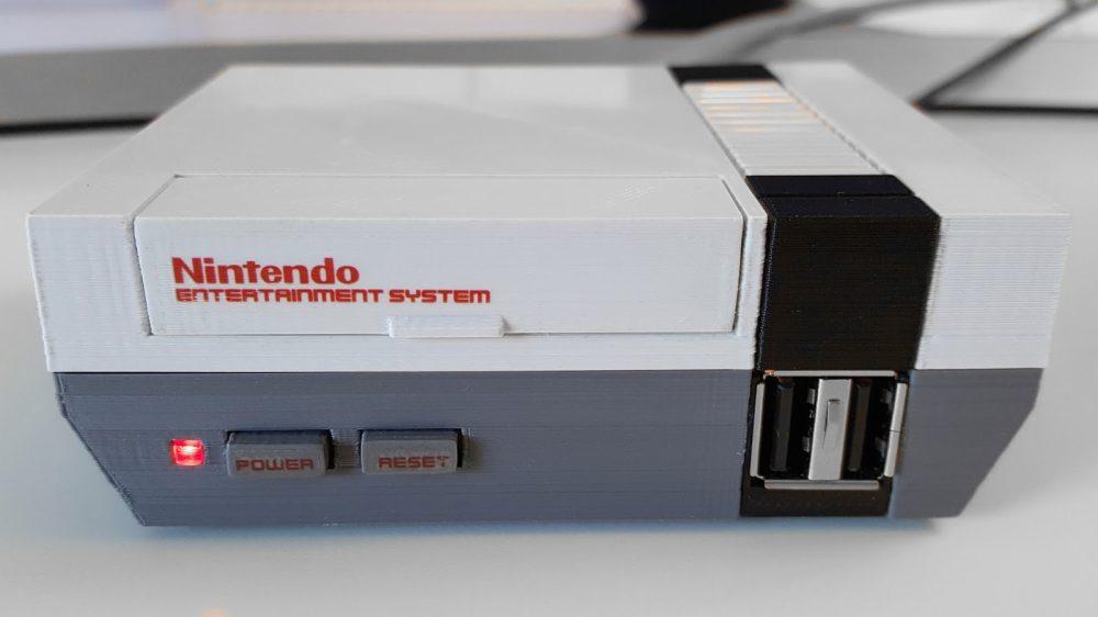 Nintendo Raspeberry Pi-NES-01
