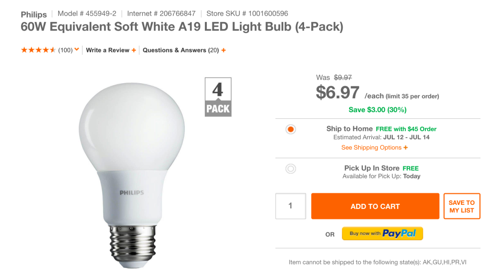 philips-home-depot-led-light-deal