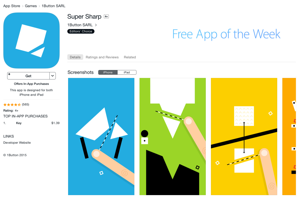 Super Sharp-sale-iOS-02