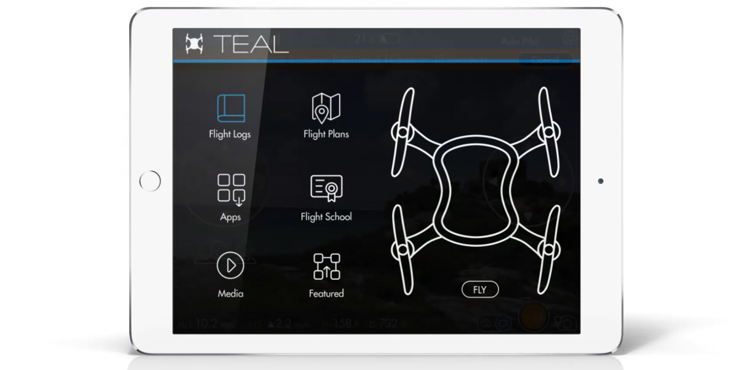 teal-drone-software