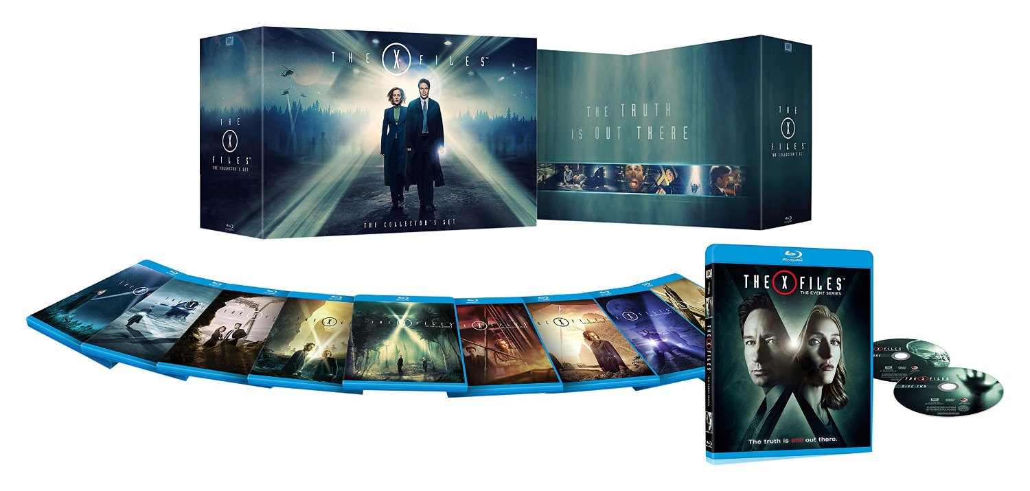 The X-Files Complete Series Collector's Set + The Event Bundle [Blu-ray]