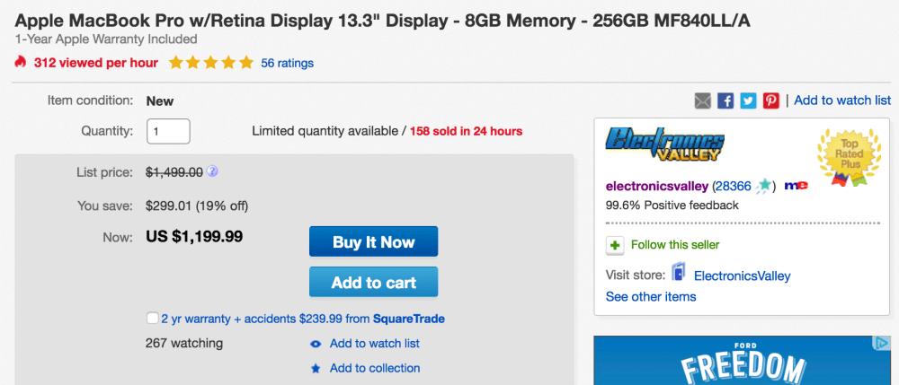 apple-macbook-pro-256gb-ebay-deal
