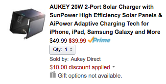 aukey-solar-amazon-deal