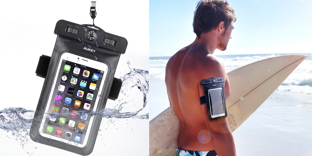 Aukey waterproof case:bag