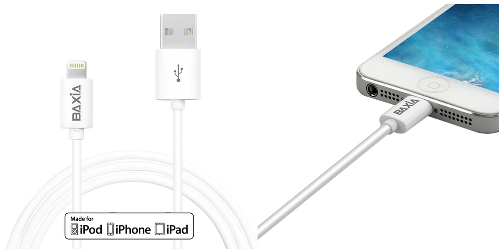 baxia MFi Lightning to USB Cable