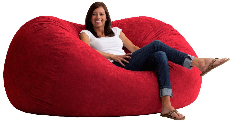Big Joe 6-Foot XL Fuf bean bag-like chair