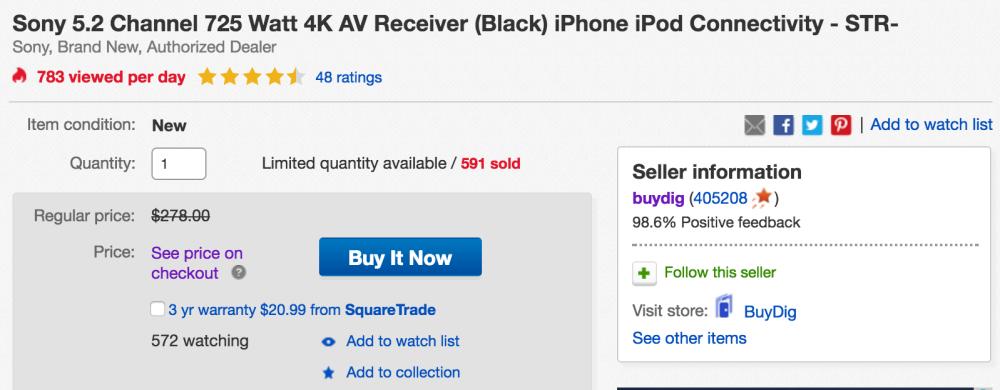 buydig-sony-av-receiver-deal