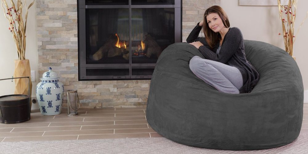 Chill Bag Bean Bag Chair in Charcoal