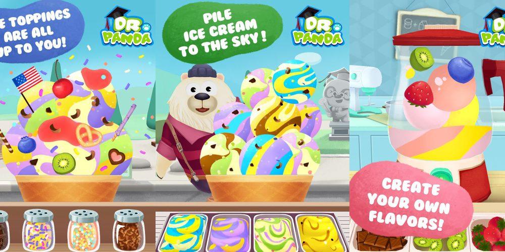 Dr. Panda's Ice Cream Truck-7