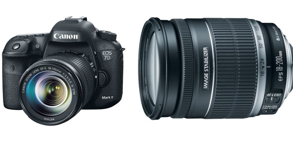 EOS 7D Mark II EF-S 18-135mm IS STM Lens Kit