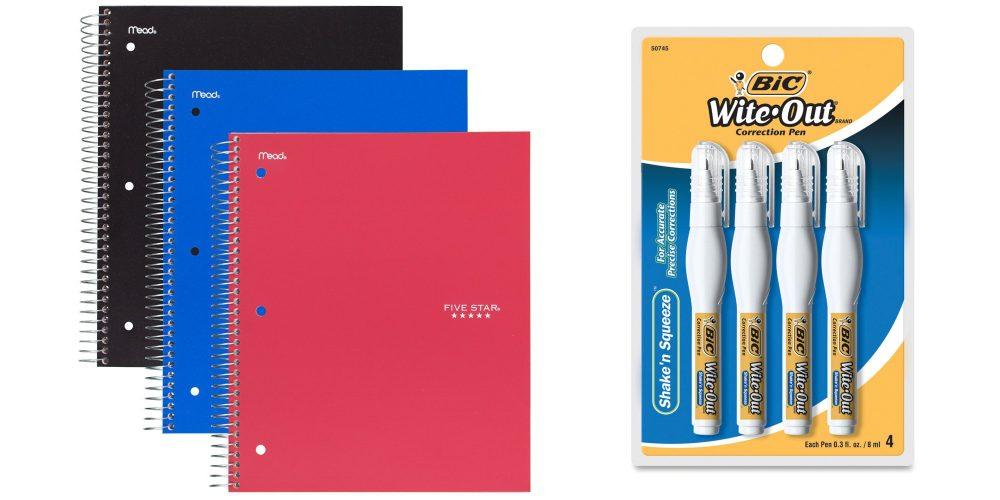 Five Star Spiral Notebooks-1