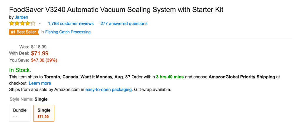 FoodSaver V3240 Automatic Vacuum Sealing System with Starter Kit-5