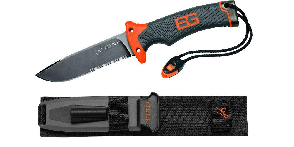 Gerber Bear Grylls Ultimate Serrated Knife-5