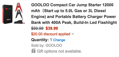 gooloo power bank code
