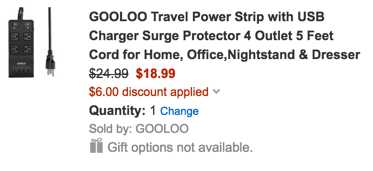 gooloo usb charger