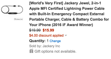 Jackery Jewel code