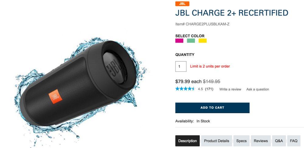 JBL Charge 2+ Harman