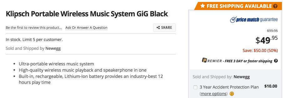Klipsch BluetoothMusic System