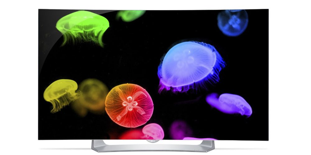 LG Electronics 55EG9100 55-Inch 1080p Curved Smart OLED TV (2015 Model)