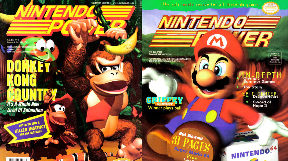 nintendo power covers