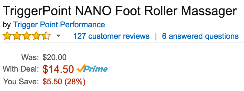 triggerpoint-foot-roller-amazon-deal