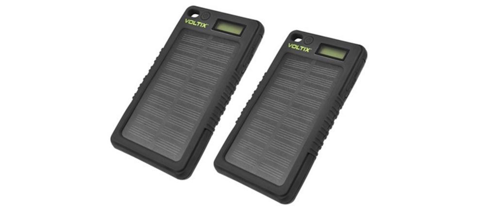 Voltix 8000mAh Solar Power Bank