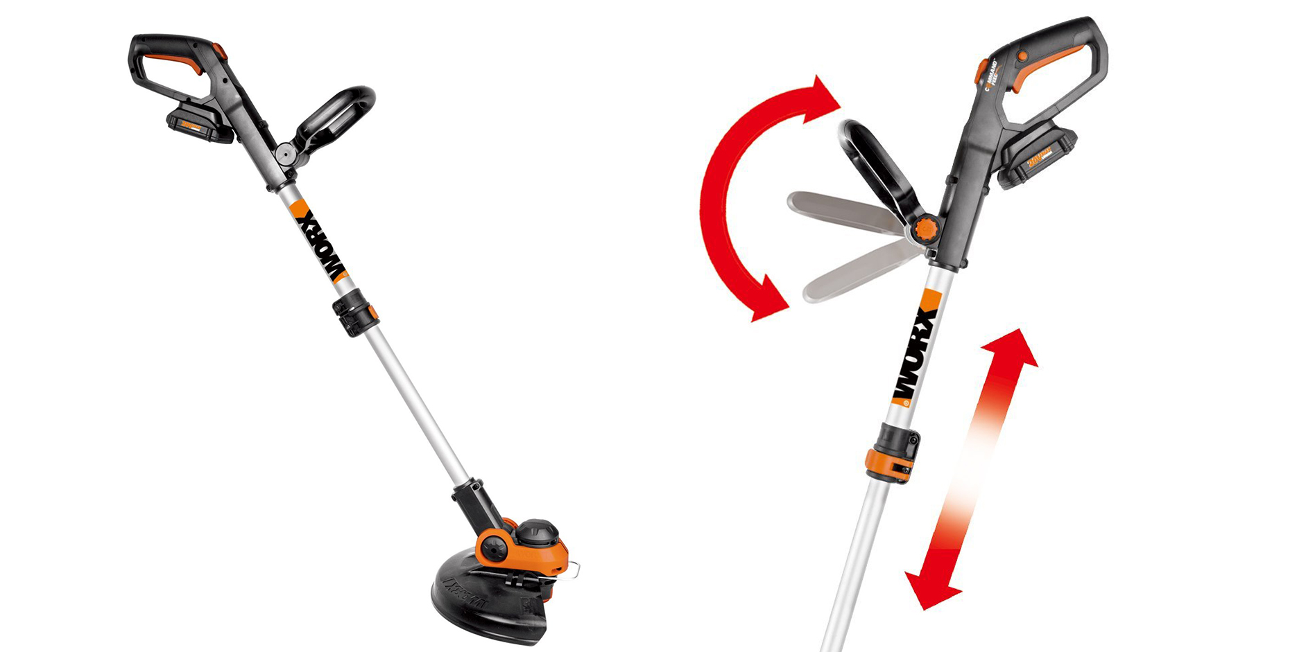 Prep for spring w/ the Worx 12-inch Cordless Electric String Trimmer for $80 (Reg. $100)