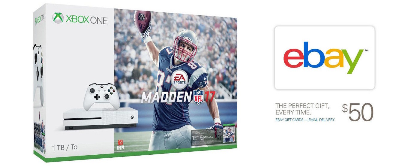 Xbox One S-Madden 17