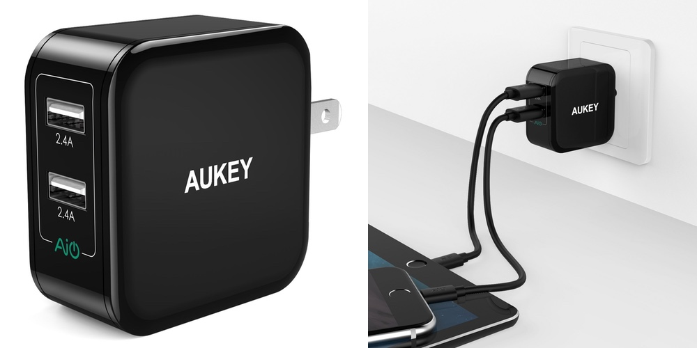 aukey-dual-port-charger