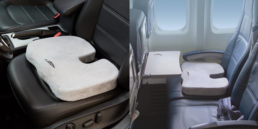 Aylio Orthopedic Comfort Foam Coccyx Seat Cushion